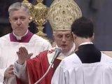 Патриарх Константинопольский и Папа Римский, Читают Символ Веры в базилике Св. Петра в Риме